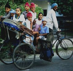 Off to School, Punjab, Patiala