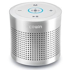 COWIN Thunder ll 15W Portable Bluetooth Speakers Wireless Hands Free Stereo Speaker for iPod iPhone Kindle Car - Silver