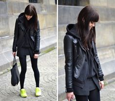 Black and neon (by Lucy De B.)