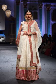 Lengha by Meera Muzaffar Ali at India Bridal Fashion Week 2014
