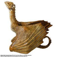 Game of Thrones Skulptur Viserion Baby Dragon 12 cm