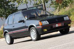 1987 Peugeot 205 GTI 1.6 | I4, 1,580 cm³ | 115 bhp  / 85 kW