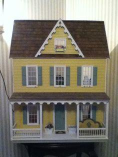 Exterior of Sylvia's dollhouse