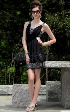 A-Line Mini-Length Cocktail/Homecoming Dresses Unique Homecoming Dresses, Cheap Short Prom Dresses, Cheap Cocktail Dresses, Black Prom Dresses, Prom Dresses Online, Sexy Dresses, Party Dresses, Dress Prom, Dress Online