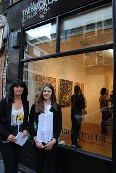 """Exhibition """"Contemporary Painting"""" London The Brick Lane Gallery May 2015"""