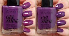 Violet Délicieux - Gel Finish (CA) / Purplicious - Gel shine (US)