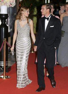 Pierre Casiraghi and his fiance Beatrice Borromeo