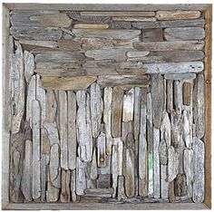 driftwood collage