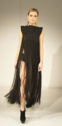 Eleanor Amoroso AW12 Macrame Dress at Modefabriek