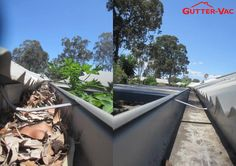 A great before and after pic from Glen from Gutter-Vac Brisbane South East, of a gutter cleaning job he did late last year. Do your gutters need a clean? Visit www.guttervac.com.au or call 1300 654 253 for a free quote!