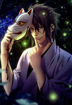 Tags: Anime, Scan, Hakuouki Shinsengumi Kitan, Okita Souji, IDEA FACTORY