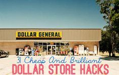 30 Cheap And Brilliant Dollar Store Hacks