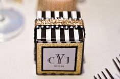Art Deco- Roaring Twenties- Vintage-Great Gatsby Wedding Favor Candy Box Wow Your Guests with this Handcrafted Crystal…