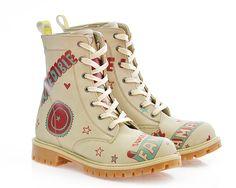 GOBY Women's Shoes ''Fantastic Combat Boot'' TIM1014 Long Boots, Combat Boots, Heels, Women's Shoes, Canada, Fashion, Heel, Moda, Woman Shoes