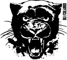 De\\Cultured - Panther - Urban Design of a Panther using Stencil Graffiti Style Artwork US Store for Panther Design : http://decultured.spreadshirt.com/de-cultured-panther-I1000228575 Facebook Page : https://www.facebook.com/Decultured Twitter Page : https://twitter.com/DeCultured_Co