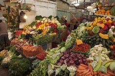 Vegetable market, Tangier