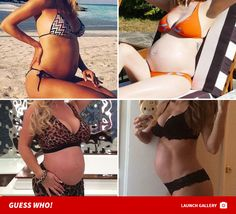 Sexy Pregnant Selfies -- Guess Who! - http://blog.clairepeetz.com/sexy-pregnant-selfies-guess-who/