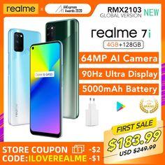 Realme 7i 4GB 128GB Global Version Snapdragon 662 CPU 6.5inch 90Hz Display 64MP AI Quad Camera 5000mAh Battery hp realme 7i,realme 7i phone,realme 7i blue,realme 7i mobile,realme 7i unboxing,realme 7i hijau,realme 7i green,realme 7i camera,realme 7i photography,realme 7i price,realme 7i specs,realme 7i box,realme 7i aesthetic,punch hole realme 7i,