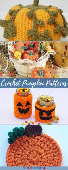 14 Crochet Pumpkin Patterns Crochet Pumpkin Pattern, Pumpkin Patterns, Halloween Crochet Patterns, Fall Patterns, Crochet Fall, All Free Crochet, Holiday Crochet, Halloween Pumpkins, Halloween Crafts
