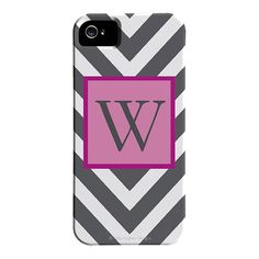 Chevron iPhone 5 Case in Gray