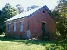 Point Pleasant, OH (Clermont County) - The one room schoolhouse on Rt. 756 East.