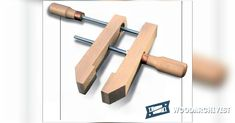 Homemade Hand Screw Clamps - Clamp and Clamping Tips, Jigs and Fixtures | WoodArchivist.com