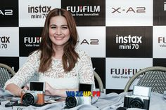 Bea Alonzo aka Basha, star of the most awaiting movie sequel of One More Chance, A Second Chance, is now an ambassador of Fujifilm and Instax Mini Wazzup.PH was invited to the presscon to … Instax Mini 70, Bea Alonzo, Movie Sequels, One More Chance, Second Chances, Fujifilm, Travel Photography, Celebrity, Hairstyle
