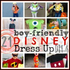 Love these - Disney Dress Up Clothes for Boys