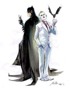Rafael Albuquerque - Batman and Joker