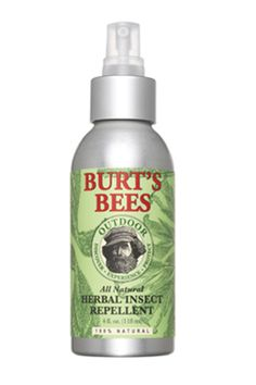 Burt's Bees Outdoor All Natural Herbal Insect Repellent