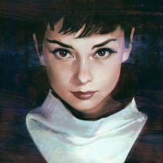 Audrey, Ilya Kuvshinov on ArtStation at http://www.artstation.com/artwork/audrey