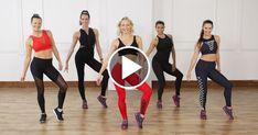 Cardio Dance and Toning Workout Mashup Class FitSugar Toning Workouts, Pilates Workout, Easy Workouts, Cardio Dance, Aerobic Exercises, Dance Workouts, 45 Minute Workout, Cardio Yoga, Dance Exercise