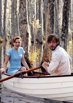 wie ein einziger tag/ the notebook/ love/ couple/ boot/ nature/ beautiful/ sweet/ rachel mcadams/ ryan gosling