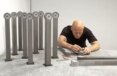 Concrete Clocks by Johan Forsberg » CONTEMPORIST