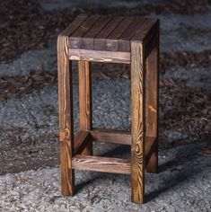 8 Attractive Extra Tall Bar Stools - Bring Charm to Your Countertop Diy Bar Stools, Wooden Bar Stools, Tall Bar Stools, Outside Furniture, Teak Furniture, Handmade Furniture, Furniture Design, Wood Pallet Crafts, Diy Wood Projects