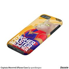 Captain Meowvel iPhone Case