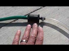 How to make a HHO Flame/Flashback Arrestor - YouTube