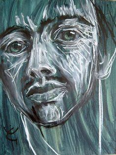 Yves Grandjean artiste peintre et sculpteur. Oeuvre peiture à l'huile.