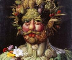 The Work Of Giuseppe Arcimboldo Is Some Of The Best Abstract Art You've Ever Seen. Renaissance Food, Italian Renaissance Art, Medieval Reactions, Giuseppe Arcimboldo, Vegetable Painting, Expo Milano 2015, Food Painting, Food Trends, Art Google