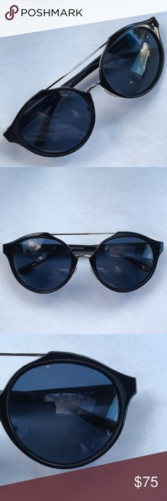 2224e691de Tory Burch Sunglasses 🕶 Frame  Black Silver Lens  Navy Solid Size  54mm  Bridge