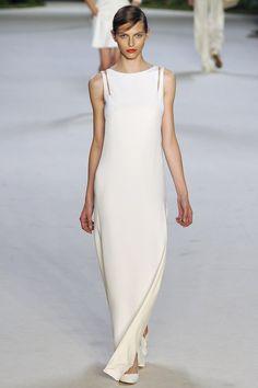 Chic White Long Dress | Minimal + Chic | @CO DE + / F_ORM