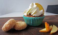 Opskrift på Gammeldags æblekage cupcakes