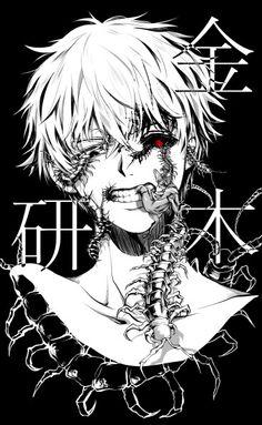 Kaneki, de Tokyo Ghoul! Una de las series que mas me gusta a pesar de su mala adaptación y la segunda temporada