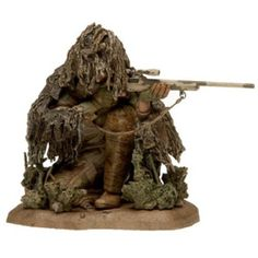 Mcfarlane Military Second Tour Of Duty - Caucasian Army Special Forces Sniper Small Soldiers, Toy Soldiers, Anime Military, Military Art, Star Wars Poster, Star Wars Art, Star Trek, Gi Joe, Ghillie Suit