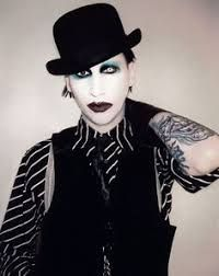 Image result for marilyn manson tattooed in reverse