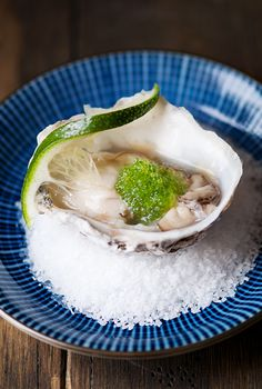 Gin Oysters From userealbutter.com #seafood #oysters #appetizer