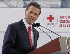 Peña Nieto llama a participar en colecta 2016 de Cruz Roja   El Puntero