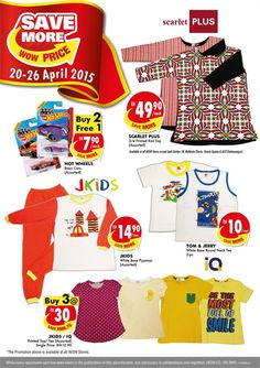 20-26 Apr 2015: AEON Save More Wow Price Weekly Promotion