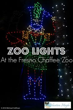 A day at the Zoo is always a great adventure, but this Christmas the Fresno Chaffee Zoo invites you to join in on a visit to the zoo with Christmas lights! Travel With Kids, Family Travel, Zoo Lights, Girlfriends Getaway, Christmas Travel, Discount Travel, Greatest Adventure, Holiday Lights, Amusement Park