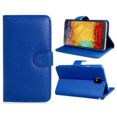 Textured Leather Blue Samsung Galaxy Note 3 Case Note 3 Case, Galaxy Note 3, Computer Accessories, Galaxies, Samsung Galaxy, Cases, Technology, Texture, Wallet